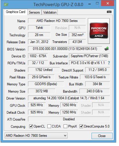 GPUZ Graphics card overclocking