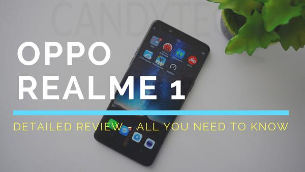 Oppo RealME 1 - Review