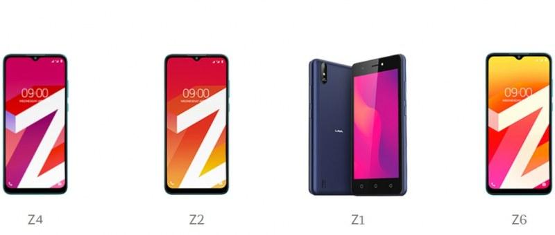 lava Z4 Z2 Z1 Z6