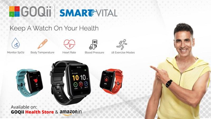 GOQii Smart Vital Fitness